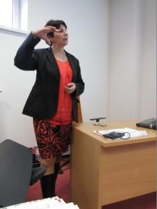 """Takto """"zapálene"""" prednášala naša pôrodná asistentka o pupočníkovej krvi - Anastázia Furmanová (SR)"""